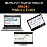 Distance Learning Bundle | Grade 1 Math Practice: Module 3