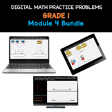 Distance Learning Bundle   Grade 1 Math Practice: Module 4