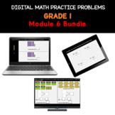 Distance Learning   Grade 1 Math Practice Bundle - Module