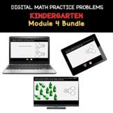 Distance Learning | Kindergarten Math Practice Bundle Modu