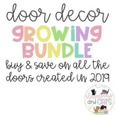 2019-2020 Growing Bundle Door Decoration Sets