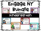 Bundle,  Kindergarten Math PowerPoints, Engage NY