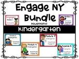 Bundle,  Kindergarten Math PowerPoints, Engage NY