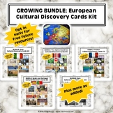 Growing Bundle: European Cultural Discovery Cards 24-Pack
