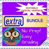 Bundle Extra Spanish (Episodes 1-7 + Projects)Editable Online Learning