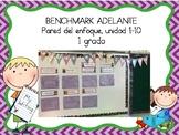 Growing Bundle Focus Wall for Benchmark Adelante 1st Grade