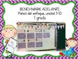 Growing Bundle Focus Wall for Benchmark Adelante 1st Grade