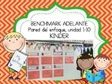 Kindergarten Ultimate Bundle: for Benchmark Adelante, 4 resources total!