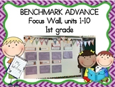 Focus Wall for Benchmark Advance 1st Grade