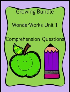 Growing Bundle Grade 1 WonderWorks Decodable Reader Compre