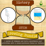 Growing Bundle - History of STEM Practicals - Science, Mathematics and History
