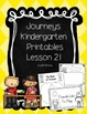 Bundle! Journeys Unit 5 Kindergarten Supplementary Materials