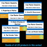 Bundle - I Can Master Chemistry - High School Science