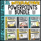 Growing Bundle Interactive Math Powerpoints