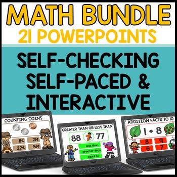 Interactive Math Powerpoints BUNDLE