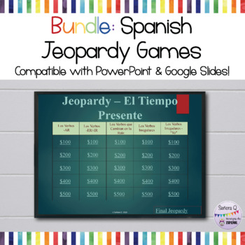 Growing Bundle: Jeopardy Games Collection (Various Themes)