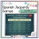 Spanish Jeopardy Games Bundle