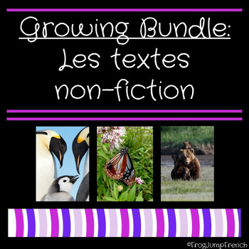 Growing Bundle Les textes non-fiction // Non-fiction texts