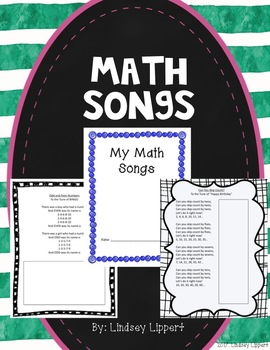 Growing Bundle - Math Songs GLAD Strategy
