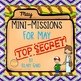 Ultimate Bundle of Mini-Missions Fun Critical Thinking Activities!