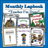 Growing Bundle: Monthly Themed Lapbooks