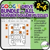 Growing Bundle Number Square Puzzles Google Ready