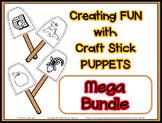 Growing Bundle Popsicle / Craft Stick Puppets  - Preschool