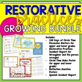 Growing Bundle!!- Restorative Practices Resources for ALL GRADES!