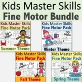 Fine Motor Activities Seasonal GROWING BUNDLE - (With Math