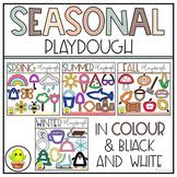 Seasonal Playdough Clip Art Bundle- Play Doh