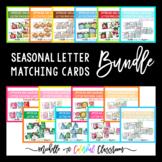Growing Bundle: Seasonal Uppercase and Lowercase Letter Ma