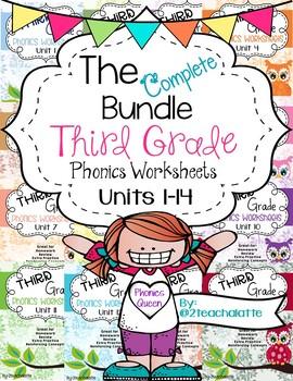 Growing Bundle Third Grade Phonics