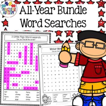 Word Search Growing Bundle