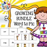 Word to Picture Matching Activities Bundle for Special Education