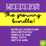 Growing Bundle: Writing Resources