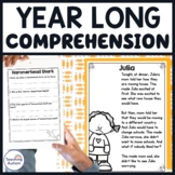 Reading Comprehension Passages and Questions Year Long Bundle