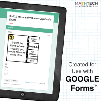 Growing Bundle of 3rd Grade Google Forms - Practice and Exit Tickets