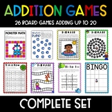 Growing Bundle of Addition Games for Centers
