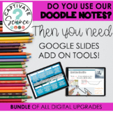 Growing Bundle of Digital Tools for use with Science Doodle Notes
