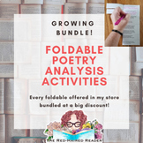 Growing Bundle of Every Poetry Analysis Foldable in my store!