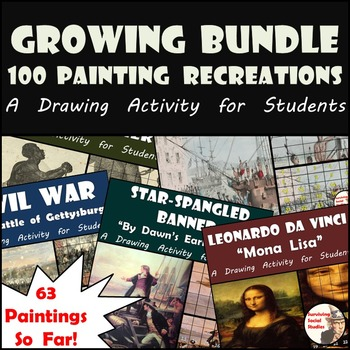 Art and History - Growing Bundle - Famous Painting Recreations - 63/100 So Far!!
