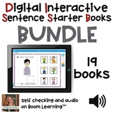 Bundle of Digital Interactive Sentence Starter Books with