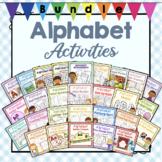 Growing Bundle of Preschool Alphabet Letter Activities