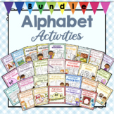 Bundle of Preschool Alphabet Letter Activities