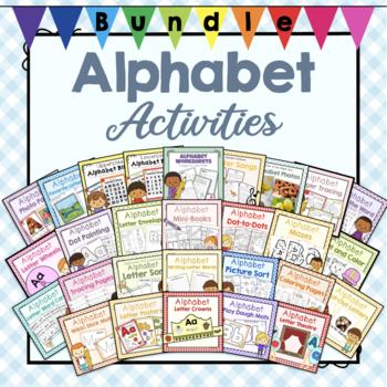 Bundle of Preschool Alphabet Letter Activities