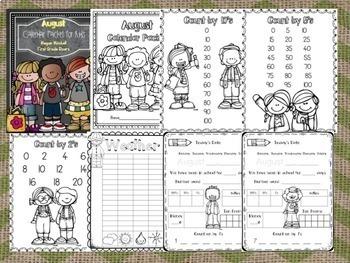 Calendar Bundle: First Grade Daily Practice