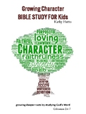 Growing Character Bible Study Journal for Kids
