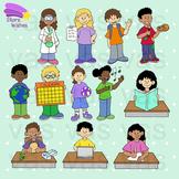 Growing Classroom Schedule Clip Art Set