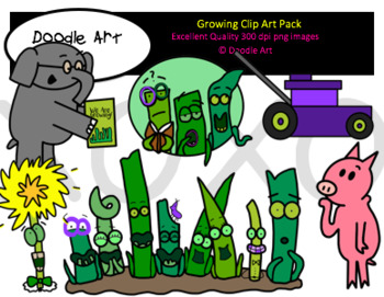 Growing Clipart Pack