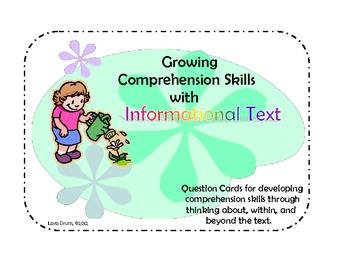 Growing Comprehension Skills with Informational Text